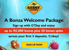 Gday Casino Mobile